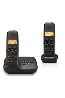 Téléphone sans fil AL 150A DUO NOIR Gigaset