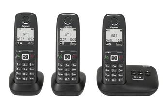 Téléphone sans fil AS415A TRIO NOIR Gigaset
