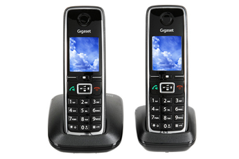 Téléphone sans fil C530 DUO NOIR Gigaset