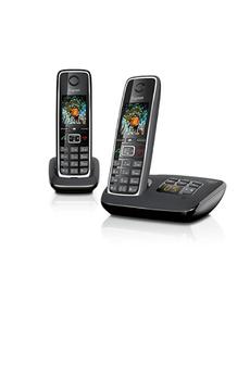 Téléphone sans fil C530A DUO NOIR Gigaset