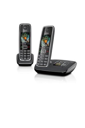 t l phone sans fil gigaset c530a duo noir gigaset c530 a. Black Bedroom Furniture Sets. Home Design Ideas