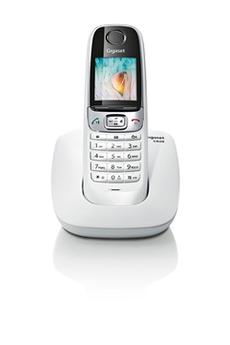 Téléphone sans fil C620 BLANC Gigaset
