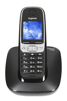 Téléphone sans fil C620 NOIR Gigaset