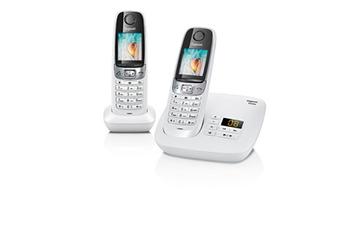 Téléphone sans fil C620A DUO BLANC Gigaset