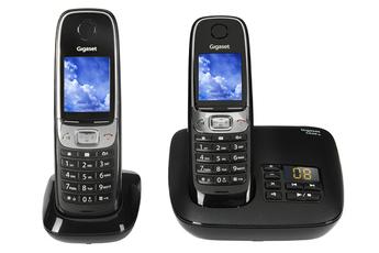 Téléphone sans fil C620A DUO NOIR Gigaset