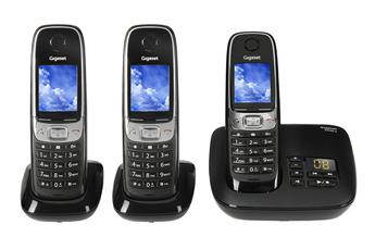 Téléphone sans fil C620A TRIO NOIR Gigaset