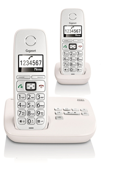 Téléphone sans fil E310A DUO COMFORT Gigaset