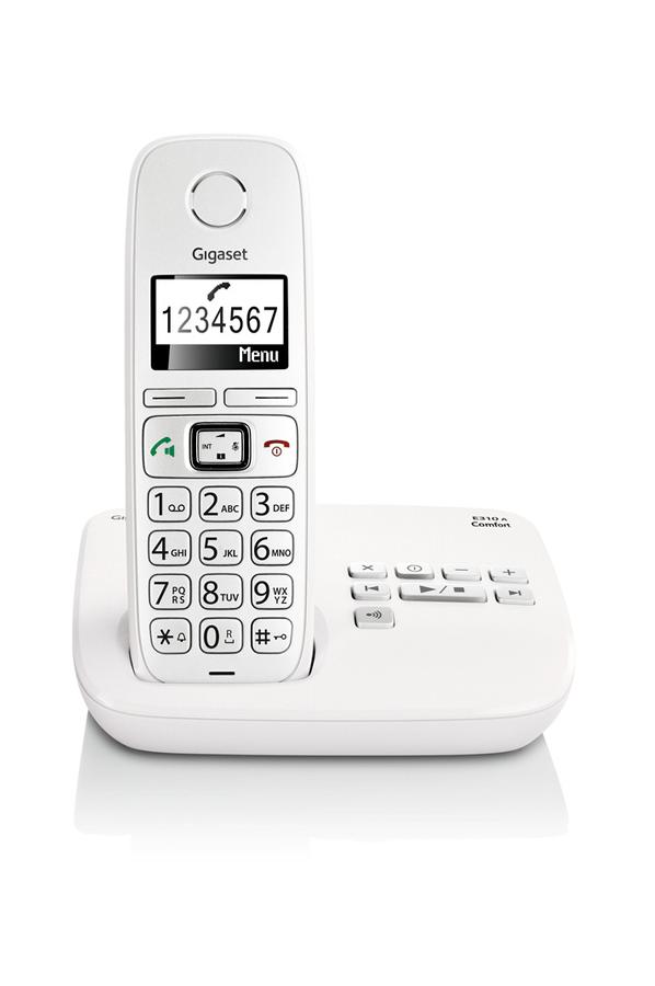 t l phone sans fil gigaset e310a solo comfort 4227026 darty. Black Bedroom Furniture Sets. Home Design Ideas