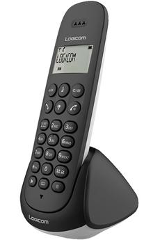 Téléphone sans fil logicom lina150solonoir
