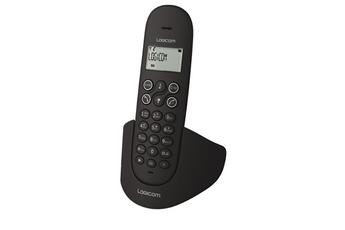 Téléphone sans fil LUNA 155T DUO NOIR Logicom