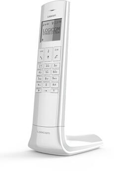 Téléphone sans fil LUXIA 155T BLANC GRIS Logicom