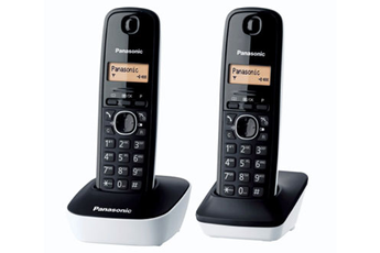 Téléphone sans fil KG-TG1612 DUO BLANC Panasonic
