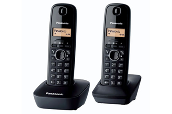 Téléphone sans fil KG-TG1612 DUO NOIR Panasonic