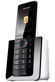 PANASONIC KXPRS120 Design noir / Blanc Mains libresFonction réduction de bruit en communicationrepon