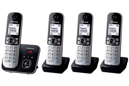 4f4028031a8147 Téléphone sans fil Panasonic KX-TG6824FRB   Darty
