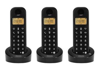Téléphone sans fil D1153B/FR Philips
