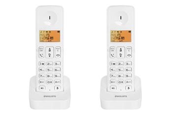 Téléphone sans fil D2102W/FR Philips