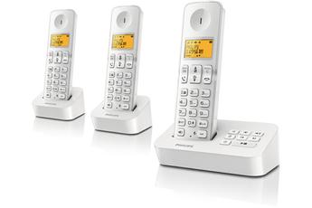 Téléphone sans fil D2153W/FR Philips