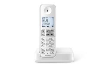 Téléphone sans fil D230 SOLO BLANC Philips