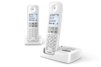 Téléphone sans fil D2352W/FR Philips