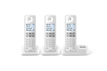 Téléphone sans fil D235 REPONDEUR TRIO Philips