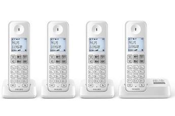 Téléphone sans fil D230 REP QUATTRO Philips