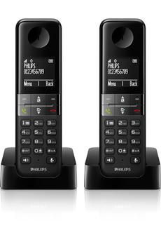 Téléphone sans fil D450 DUO Philips