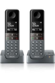 Téléphone sans fil D4552DG Philips