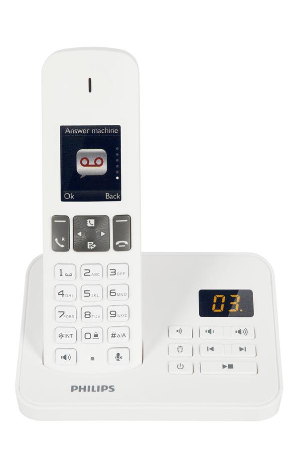 t l phone sans fil philips d6051 solo blanc philips d 600 solo blanc 4004620 darty. Black Bedroom Furniture Sets. Home Design Ideas