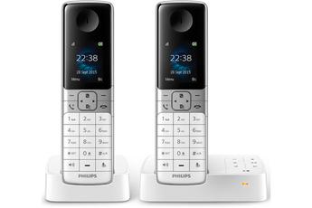 Téléphone sans fil D635 DUO BLANC Philips