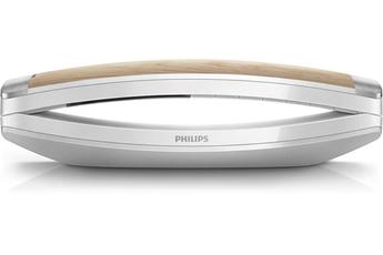 Téléphone sans fil M8 Design Bois et Blanc Philips