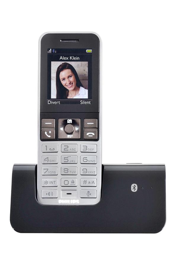 t l phone sans fil philips mobilelink s9a s9a 34 mobile link 3631672 darty. Black Bedroom Furniture Sets. Home Design Ideas