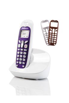 Téléphone fixe SAGEM D271 BLANC SOLO SANS REPONDEUR