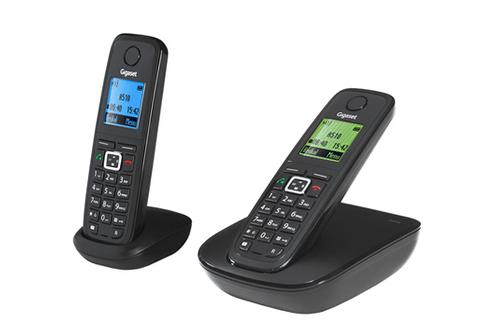 t l phone sans fil gigaset a510 duo a510duo 3618080 darty. Black Bedroom Furniture Sets. Home Design Ideas