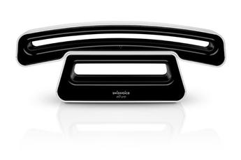 Téléphone sans fil EPURE V2 BLANC-NOIR Swissvoice
