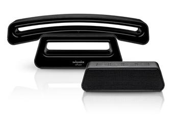 Téléphone sans fil ePure V2 Noir avec répondeur Swissvoice