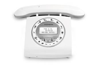 Téléphone sans fil CLASSY SILVER Thomson