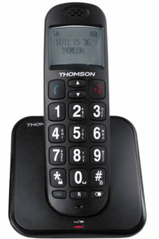 Téléphone sans fil CONECTO 200 BLACK Thomson