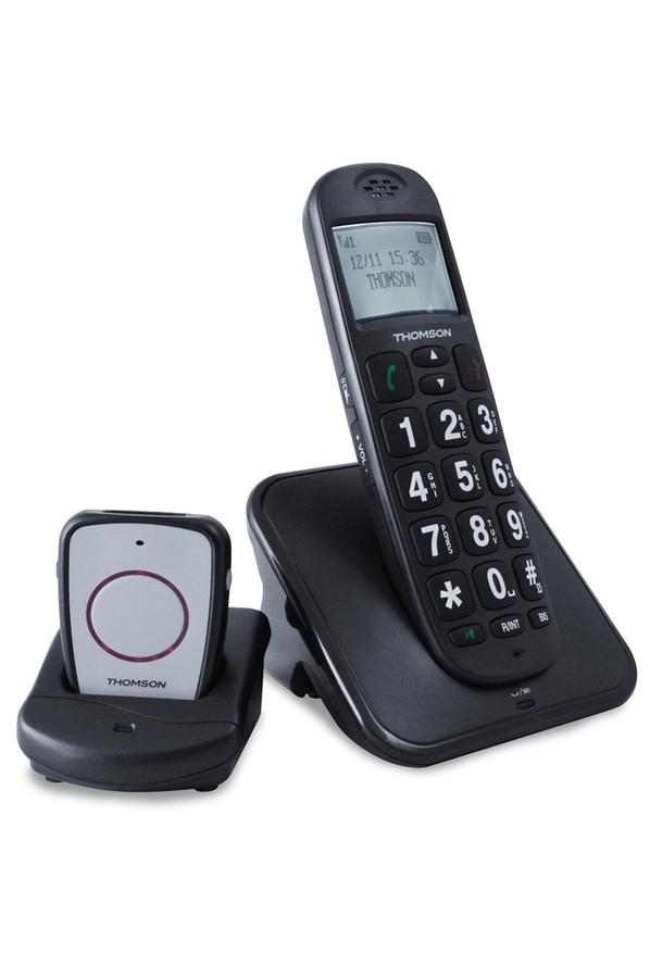 t l phone sans fil thomson conecto 300 noir darty. Black Bedroom Furniture Sets. Home Design Ideas