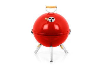 Barbecue BBGRILL 30 CHARBON ROUGE Intercol