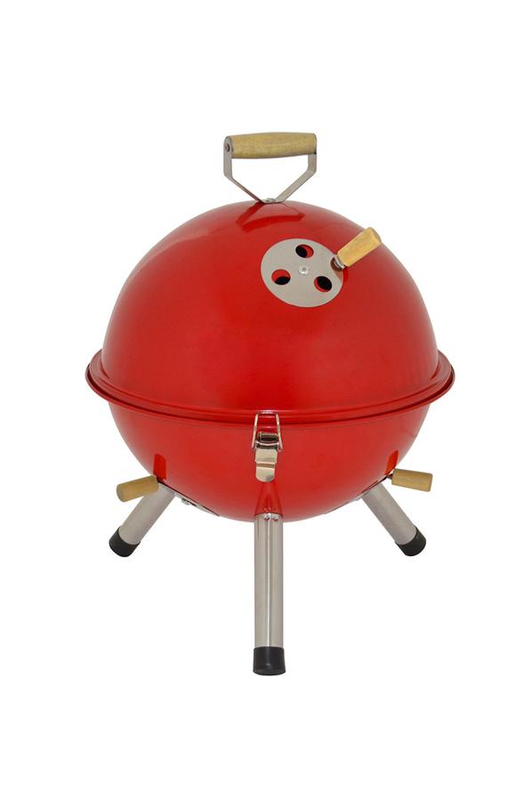 Barbecue proline bbq charbon sunny3 1397249 darty - Barbecue charbon avec couvercle ...