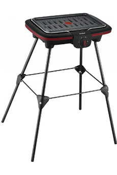 Barbecue CB902O12 EASY GRILL COMPACT PIEDS Tefal