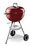 Weber ONE TOUCH ORIGINAL 47 CM CRIMSOM RED + THERMOMETRE