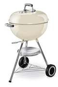 Weber ONE TOUCH ORIGINAL 47 CM IVORY WHITE + THERMOMETRE