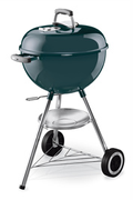 Weber ONE TOUCH ORIGINAL 47 CM SLATE BLUE + THERMOMETRE