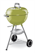 Weber 1247304 ONE TOUCH ORIGINAL 47 CM SPRING GREEN + THERMOMETRE