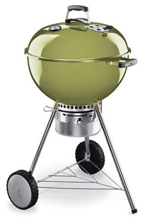 barbecue weber vert