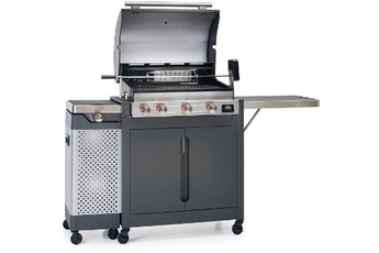 Barbecue americain BARBECUE GAZ QUISSON 4000 Barbecook