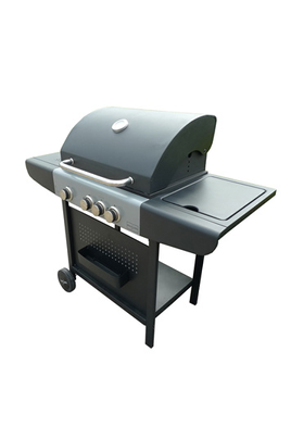 Barbecue americain OL 6454 SB INOX/NOIR Brasero