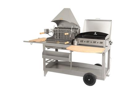 barbecue americain le marquier mendy alde bap3321 i darty. Black Bedroom Furniture Sets. Home Design Ideas